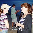 Cheryl and Lisa Rhoads in 2004