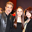 Joe Mantegna, Alissa DeLork, and Cheryl Rhoads 2012