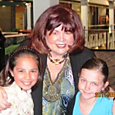 Cheryl with 2011 Kids Class Students