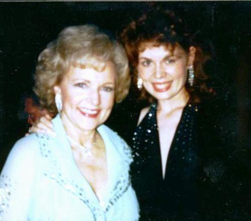 Cheryl and Betty White