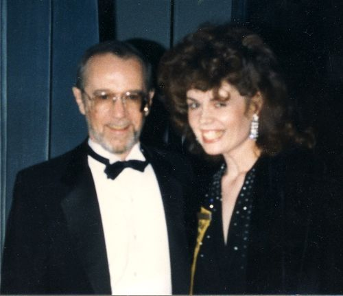 George Carlin and Cheryl about 1989