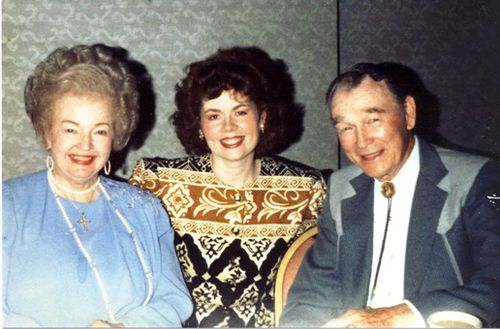 1993: Cheryl with Roy Rogers and Dale Evans